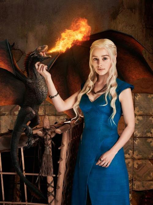 She will be dragon queen.