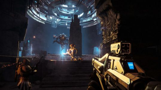 Waiting at the bottom of the hole. http://www.vg247.com/2014/01/18/destiny-screenshots-take-you-to-mars-and-venus/