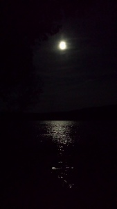 Luna bestows sanity and insanity. Sometimes in equal parts. Oh the shimmer of quick silver on the lake.